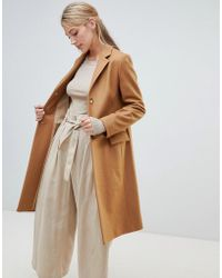 Helene Berman - University Coat In Wool Blend - Lyst