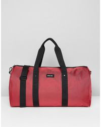 French Connection - Duffle Bag In Burgundy - Lyst