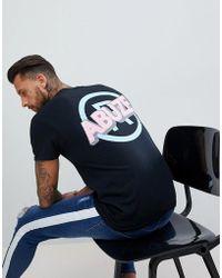 Abuze London - Abuze Ldn Bold Back Print T-shirt - Lyst