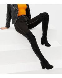 ASOS - Asos Design Tall Kadi Heeled Over The Knee Boots - Lyst