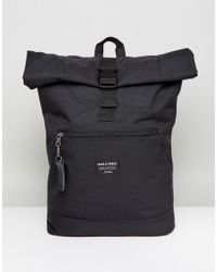 Jack & Jones - Backpack With Roll Top - Lyst