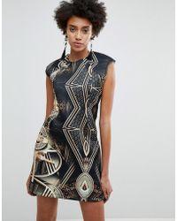 ASOS - Asos X Star Wars Scuba Printed Mini Dress - Lyst