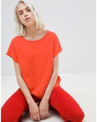 Weekday - Wind Woven T-shirt - Lyst