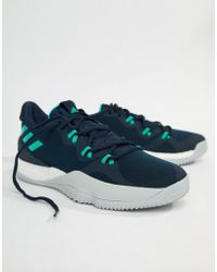 19a733baef1d adidas - Basketball Crazy Light Boost 2018 Sneakers In Navy Db1068 - Lyst