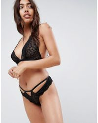 ASOS - Design Maddison Lace Thong - Lyst