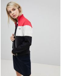 Fred Perry - Colour Block Track Jacket - Lyst