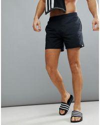 adidas - Swim Shorts In Black Cv7111 - Lyst