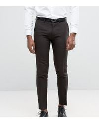 Only & Sons - Skinny Trousers In Tonic - Lyst