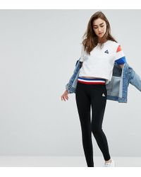 Le Coq Sportif - Exclusive To Asos Leggings With Contrast Tricolor Waistband - Lyst
