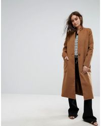 Moon River - Oversized Pea Coat - Lyst