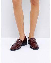 ASOS - Milan Premium Leather Loafers - Lyst