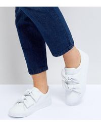 ASOS - Ditzy Bow Trainers - Lyst