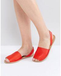 Warehouse - Leather Menorcan Sandal - Lyst