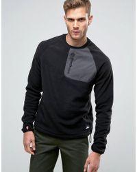 Penfield - Carney Polar Fleece Sweatshirt In Black - Lyst