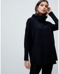 French Connection - Babysoft Cowl Neck Jumper - Lyst