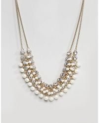 Coast - Pearl Necklace - Lyst