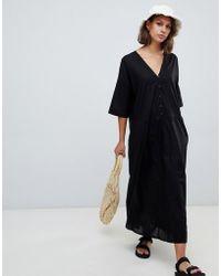 Kowtow - Oversized Mid-axi Dress In Organic Cotton - Lyst