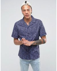 SYSTVM - Rita Revere Collar Shirt - Lyst