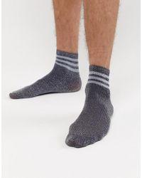 ASOS - Sports Style Socks In Glitter - Lyst