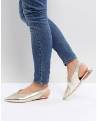 Faith - Annike Pointed Flat Shoes - Lyst