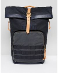 Fossil - Roll Top Backpack - Lyst