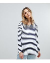 Isabella Oliver - Relaxed Stripe Long Sleeve T-shirt - Lyst