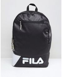Fila - Barbe Backpack In Black - Lyst