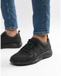 Camper - Drift Chunky Sole Trainers In All Black - Lyst