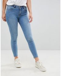 ONLY - Push Up Skinny Jean - Lyst
