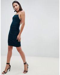 AX Paris - Sqaure Neck Mini Dress - Lyst