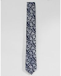 SELECTED - Floral Tie - Lyst
