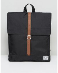 Herschel Supply Co. - City Backpack In Black - Lyst