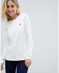 Polo Ralph Lauren - Long Sleeve Logo Tee - Lyst