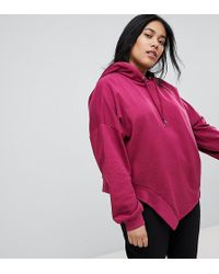 ASOS - Hoodie In Oversized Fit In Ravage Detail - Lyst
