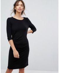 Vila - Bodycon Knitted Dress - Lyst