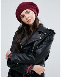Alice Hannah - Textured Beret Hat - Lyst