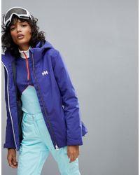 Helly Hansen - Spirit Ski Jacket In Blue - Lyst