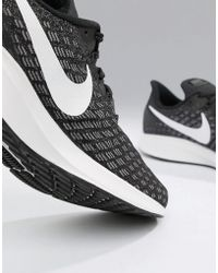 competitive price 5eaca 95b69 Nike - Air Zoom 35 Pegasus Trainers In Black 942851-001 - Lyst
