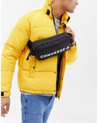 Converse - Retro Bumbag In Black - Lyst