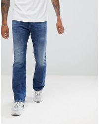 DIESEL - Zatiny Bootcut Jeans 084uh - Lyst