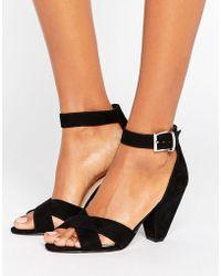 ASOS | Hat Trick Heeled Sandals | Lyst