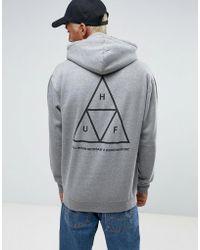 Huf - Triple Triangle Hoodie - Lyst