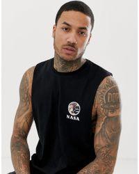 ASOS Nasa Sleeveless T-shirt With Chest Print