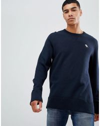Abercrombie & Fitch - Navy - Lyst