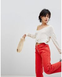 Free People - Got Me Twisted Knot Front Jumper - Lyst