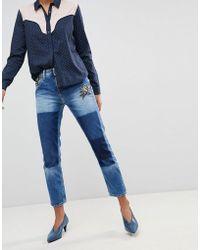 Pepe Jeans | Vagabond Patchwork Boyfriend Jeans | Lyst