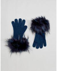 Alice Hannah - Core Range Stitch Inter Glove - Lyst