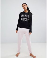Adolescent Clothing - Wakey Wakey T-shirt And Shorts Pyjama Set - Lyst