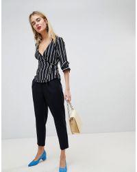 Warehouse - Peg Leg Tailored Trousers - Lyst
