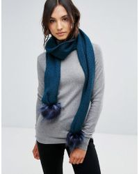 Alice Hannah - Core Range Stitch Inter Scarf - Lyst